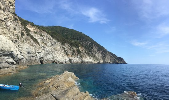 Levanto, Italy: secret pool
