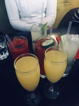 The Exchequer: Bloody Mary, Mimosa and Mojito