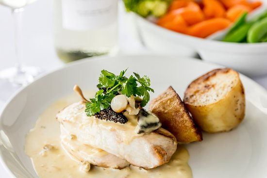 Kendal, UK: Chicken in Peppercorn sauce