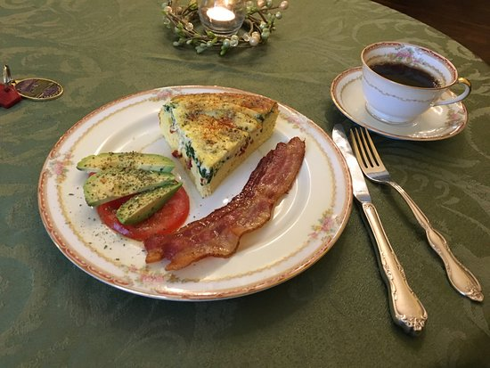 Rachael's Dowry Bed and Breakfast: Breakfast!