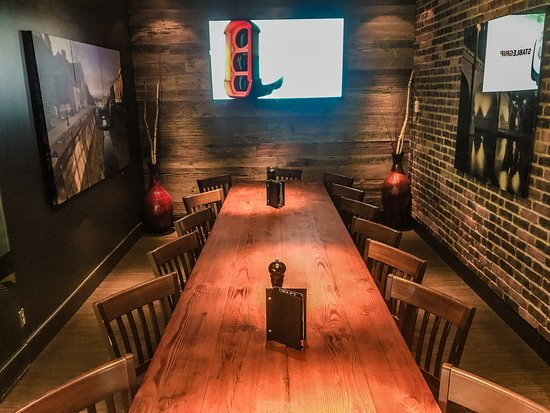 Private Dining Room. Call to reserve.