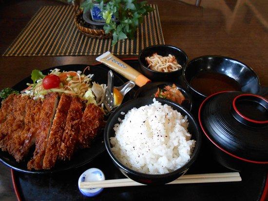 Kagamiishi-machi, Nhật Bản: ロースとんかつ定食