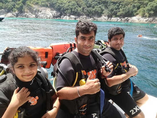 Andys Scuba Diving Phuket: First time scuba diving..