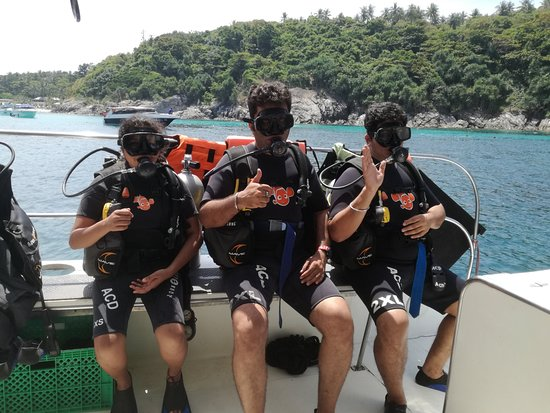 Andys Scuba Diving Phuket: Ready to go diving!
