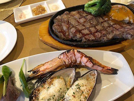 Core BBQ Garden & Bar: タモンベイ セット +$5で肉をプレミアムにアップできます おすすめです!