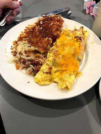 Rowlett, TX: Meat Omelette