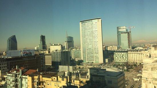 Michelangelo Hotel : vista dalla finestra