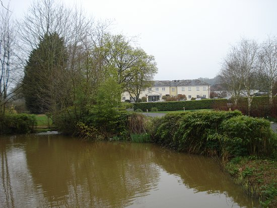 Калкот, UK: Part of grounds and hotel.