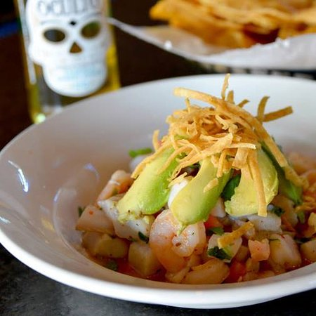 The Blue Iguana: ceviche