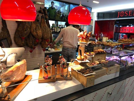 La Ribera: Food kiosk