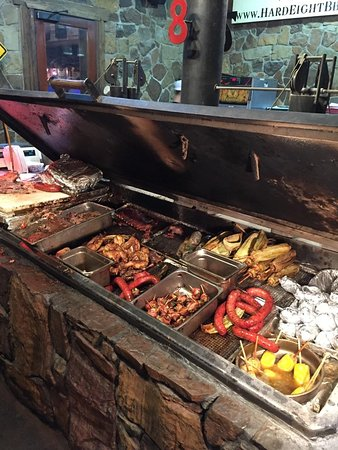 Hard Eight BBQ: Grill selection to pick from