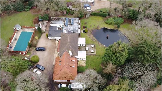 Aylmerton, UK: Taken from above the Eiders