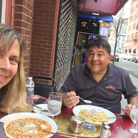 Great food, great place, friendly staff! Owner very attentive!  We highly recommend this Italian
