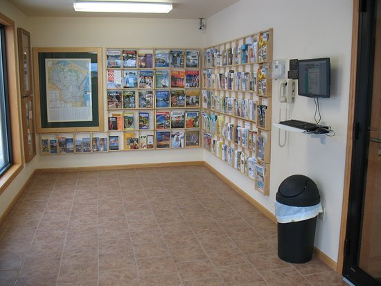 Shawano Country Chamber of Commerce & Visitor Center: Our Visitor Center Vestibule is open 24 hours every day.