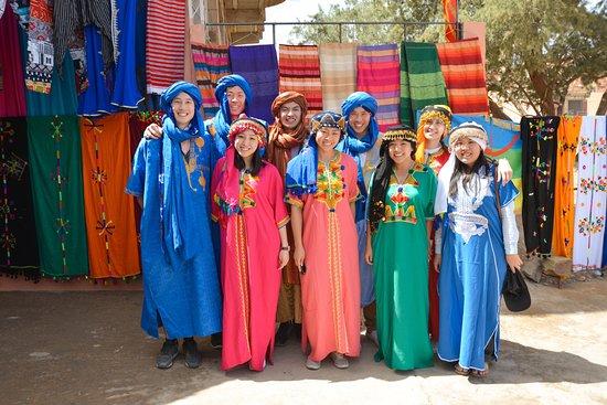 Discover Morocco Tours: Berber clothes
