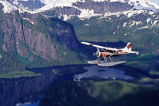 Ketchikan, AK: Carlin Air flying in the Misty Fjords Monument