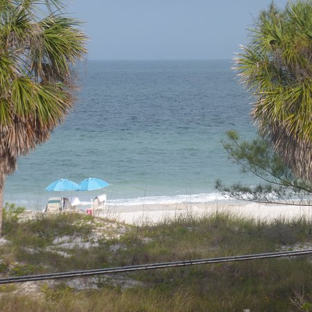 view from our room picture of silver surf gulf beach. Black Bedroom Furniture Sets. Home Design Ideas