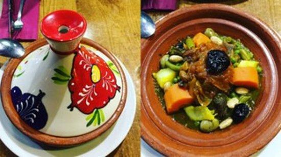 Marhaba: Tajine with lamb meat