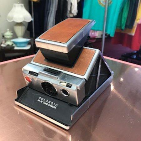 Marietta, جورجيا: Vintage Polaroid Camera