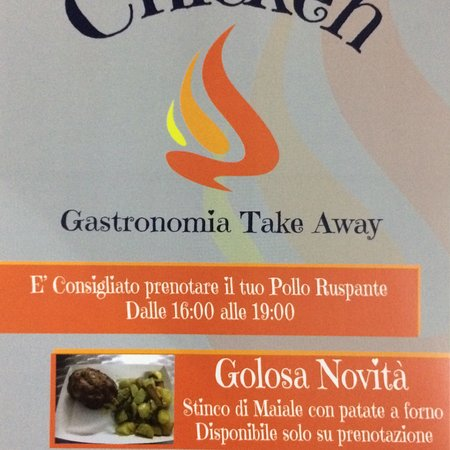 Trappeto, Italie : Chicken gastronomia take Away
