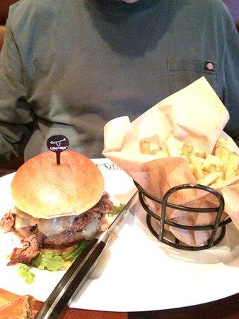 LaGrange, GA: burger and fries (and salad)