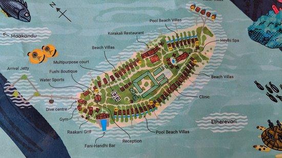 拉薇亞妮環礁照片