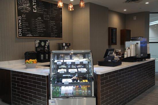 Four Points by Sheraton Toronto Airport: We proudly brew Starbucks