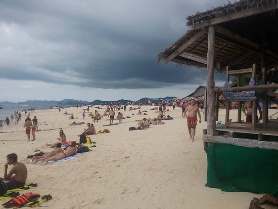 Phang Nga Province, Thailand: Trop de touriste!
