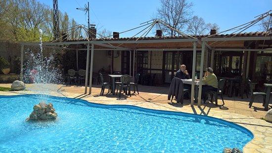 Ristorante Lete: Esterno con piscina
