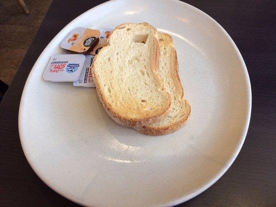 Marion, Australia: Breakfast instead of the pancakes advised in deal