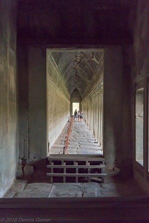 Story wall at Angkor Wat