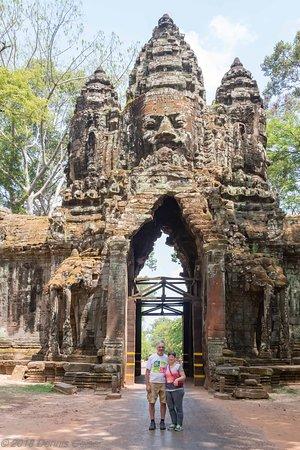 North Gate at Angkor Thom