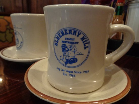 Blueberry Hill Coffee Cup
