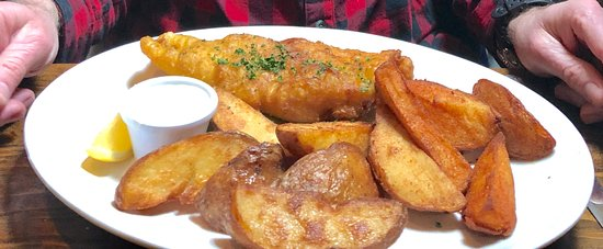 J.J O'Malleys Bar & Restaurant: Delicious fish and chips