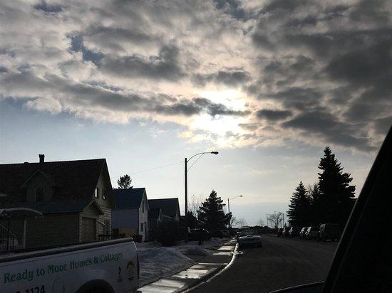Kindersley, Canada : Beautiful skies in Saskatchewan