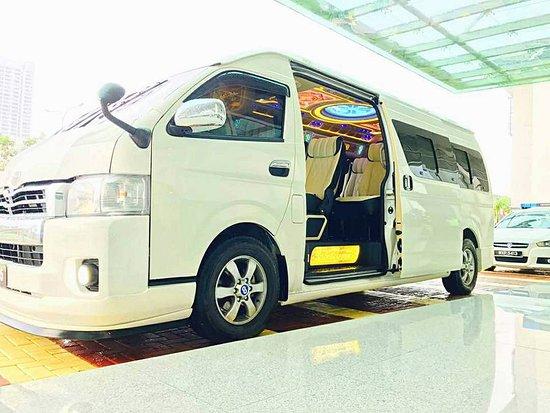 Dengkil, Malaysia: luxury van for tour