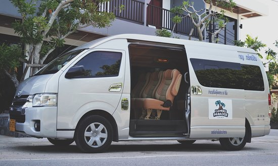 Gamers Paradise Hotel: Beach/Airport daily Shuttle