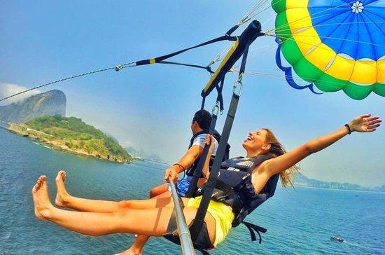 Parasailing adventure in Rio de...