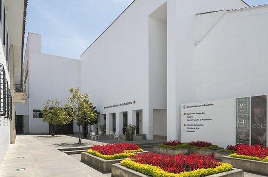 Billet d'entrée au Museo De Arte...