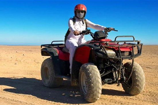 private Quad Bike Tour around Giza...