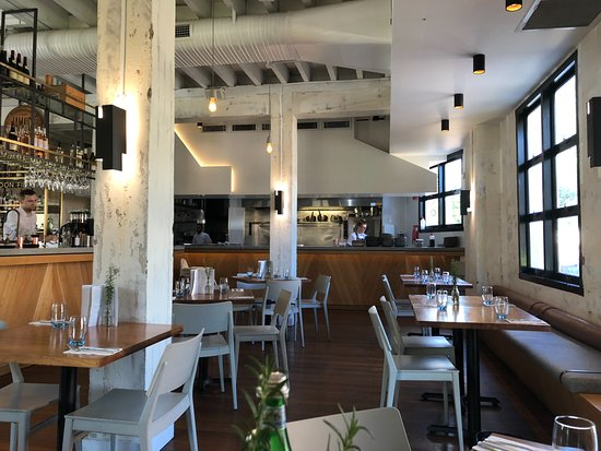 Open Kitchen And Restaurant Interior Picture Of London Fields