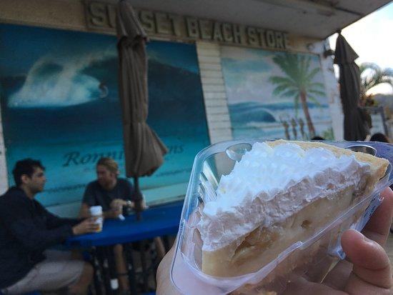 Sunset Beach, HI: Banana Cream Pie