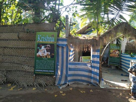 Agonda, India: Krishna Ayurveda massage centre