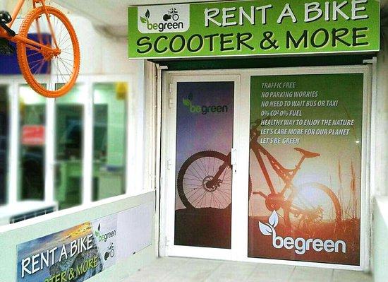Images qawra: BeGreen Shop Rent a Bike
