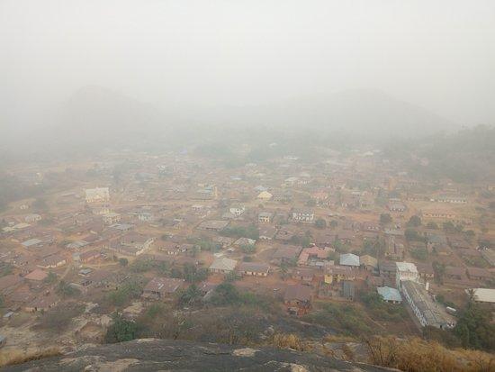 Lokoja, Nigeria: Picturesque view from the Ogidi mountain range.