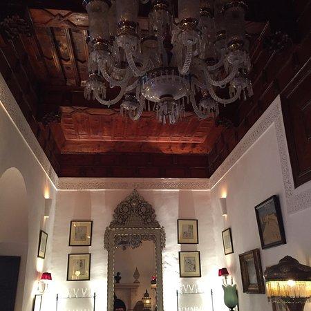 The Hotel interior