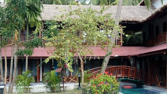 South Andaman Island, Ấn Độ: Organic Khaana outside view