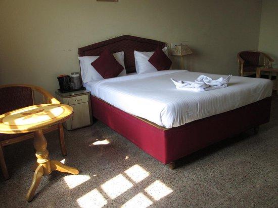 Hotel I K London Residency: The room is nice