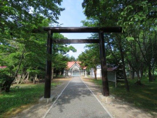 Ebetsu, اليابان: 鳥居と社殿