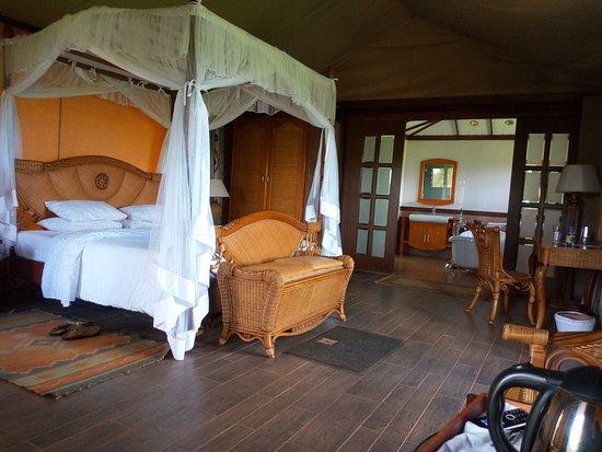 Kilima Safari Camp: Deluxe set up